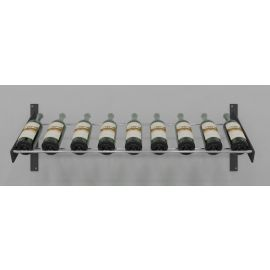VintageView - Evolution Series Wine Wall Presentation Row Wine Rack (9 bottles)