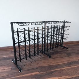 VintageView - 180-Bottle Island Display Rack 3 Extension