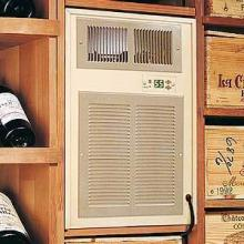 Breezaire cooling unit in a wine cellar
