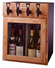 Napa 4-bottle wine dispenser and wine preserver