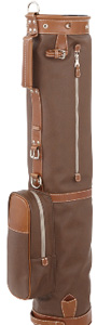 mulholland leather golf bag