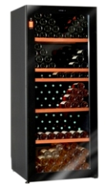 Climadiff Diva 265 Bottle Multi-Temperature Wine Cabinet