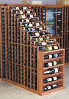 Designer Series Double Waterfall Wine Rack
