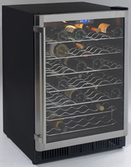 Avanti Wine Cooler for built-in or freestanding use