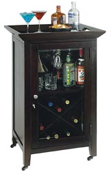Howard Miller Butler Console Portable Wine Station