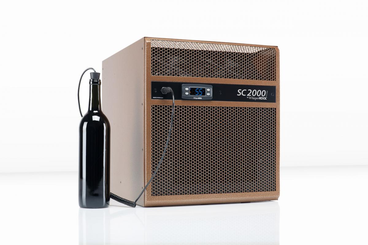 New WhisperKOOL SC Series Wine Cellar Cooling Systems