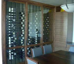 Vintage View Wine Wall