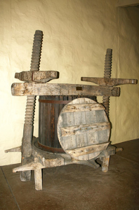 16th century wine press