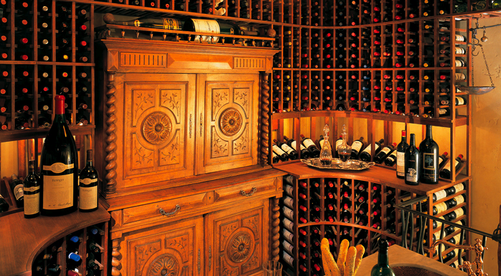 Custom Wine Cellar Photo Tour