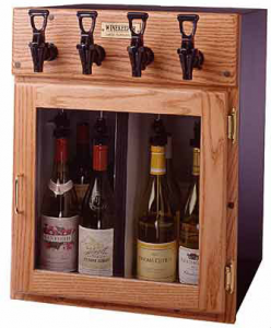 WineKeepe 4 bottle napa model