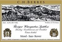 C.H. Berres Urziger Wurzgarten Riesling Spatlese 1997
