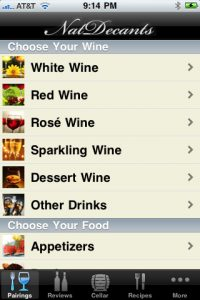 Nat Decants App Screenshot