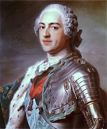 Painting of Louis XV