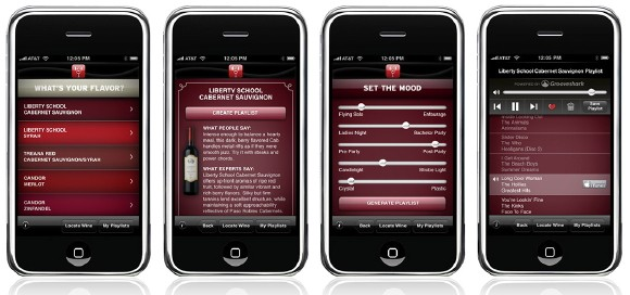 Wine DJ Screenshots