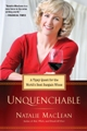 Natalie MacLean poses for the cover of her new book UNQUENCHABLE