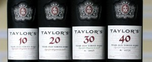 Aged tawny port is aged in years that are multiples of ten.