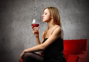 Enjoying wine alone lets you give it your full attention.