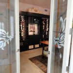 custom wine cellar by vintage cellars
